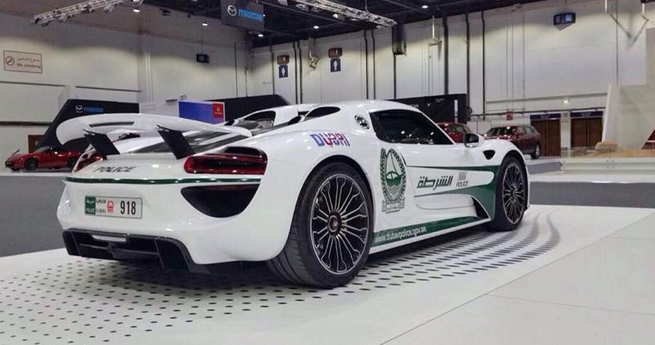 918 Spyder Police Dubai