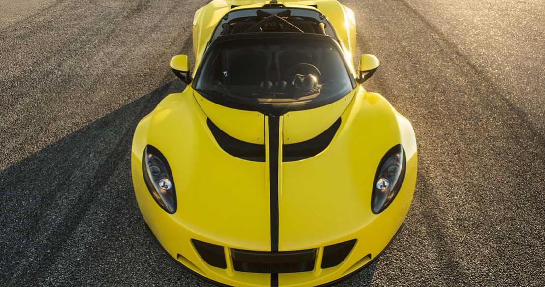 Hennessey Venom GT 1451 chevaux