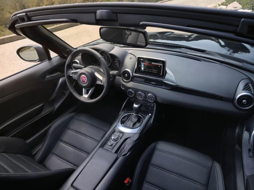 Fiat 124 spider intérieur