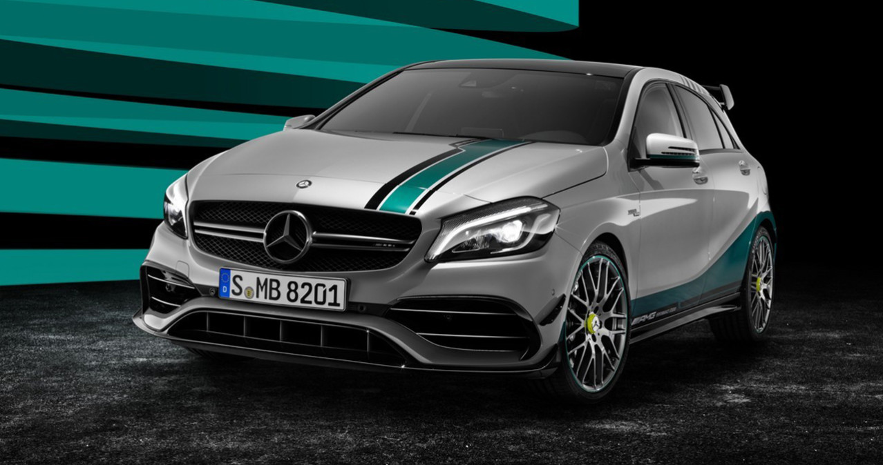 Mercedes A45 AMG Petronas World Championship Edition