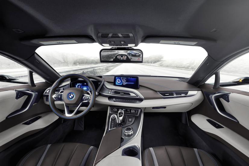 Rétro intérieur BMW