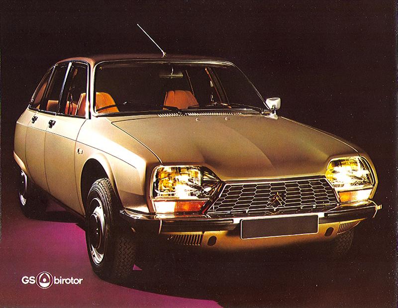 citro n gs gsa la voiture de l 39 ann e 1971. Black Bedroom Furniture Sets. Home Design Ideas