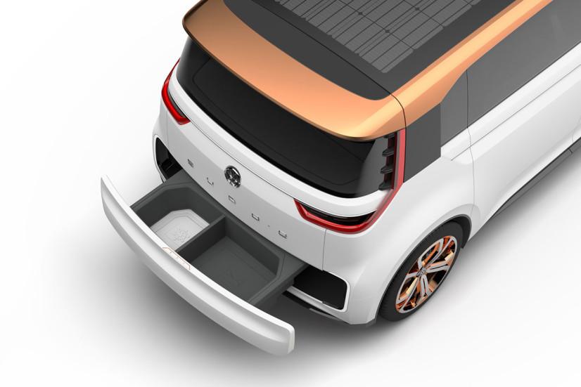 VW Budd-e Concept boite aux lettres