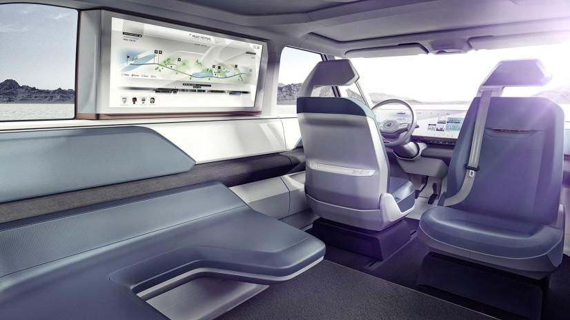 VW Budd-e Concept intérieur
