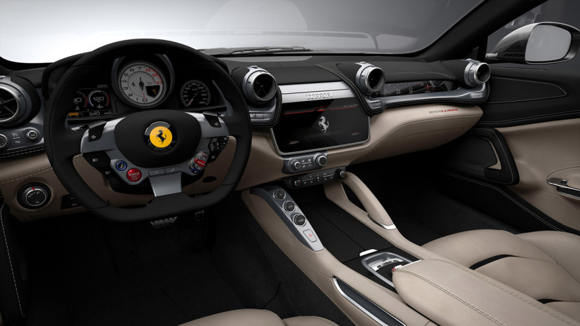 Ecran Ferrari GTC4 Lusso