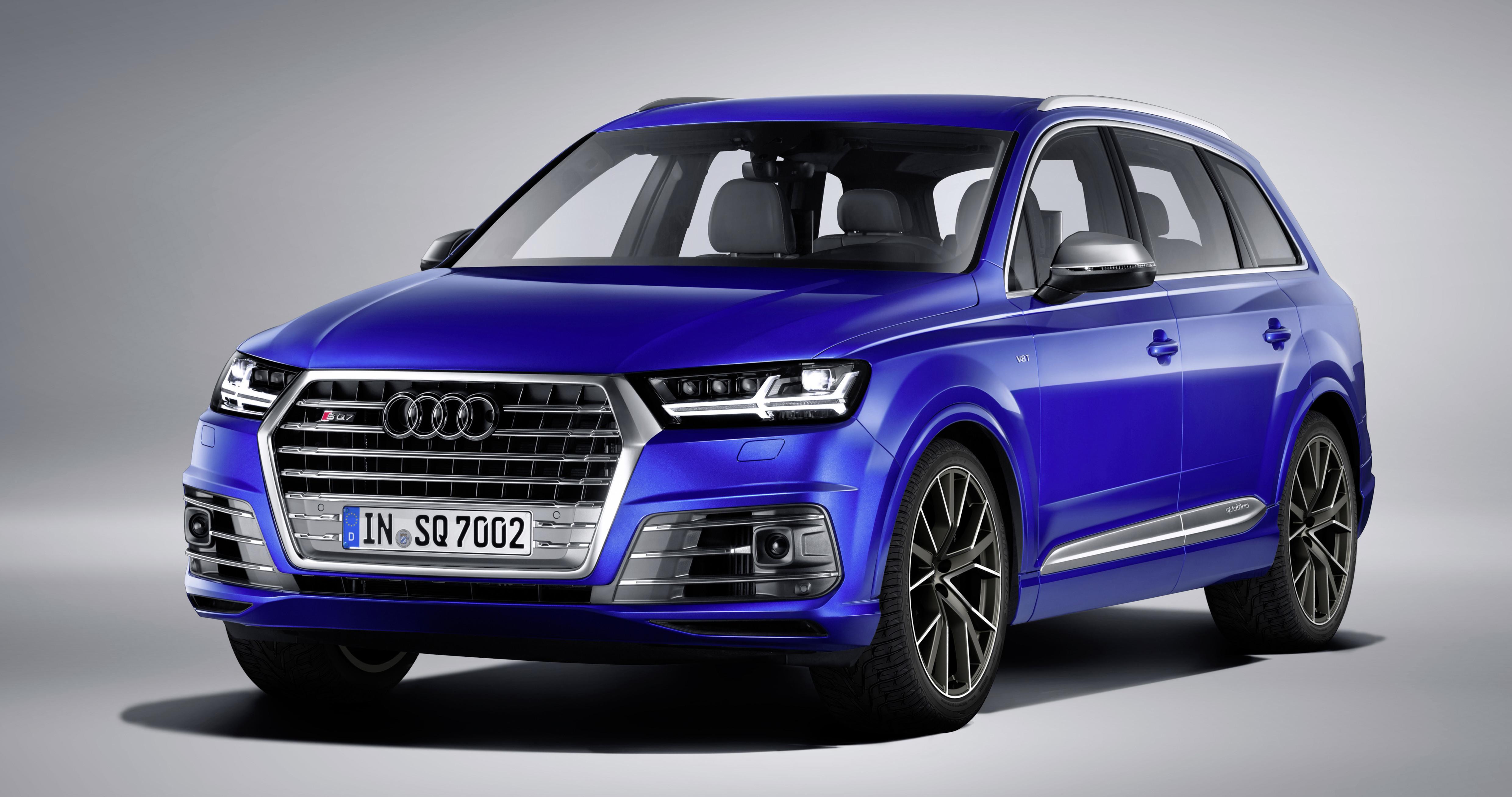Audi SQ7 TDI Sepang blue