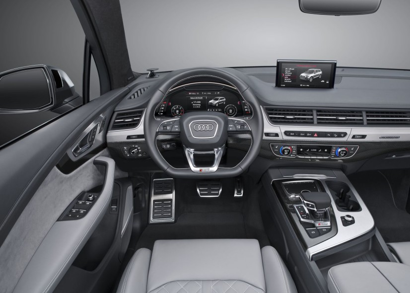 Audi SQ7 TDI Cockpit