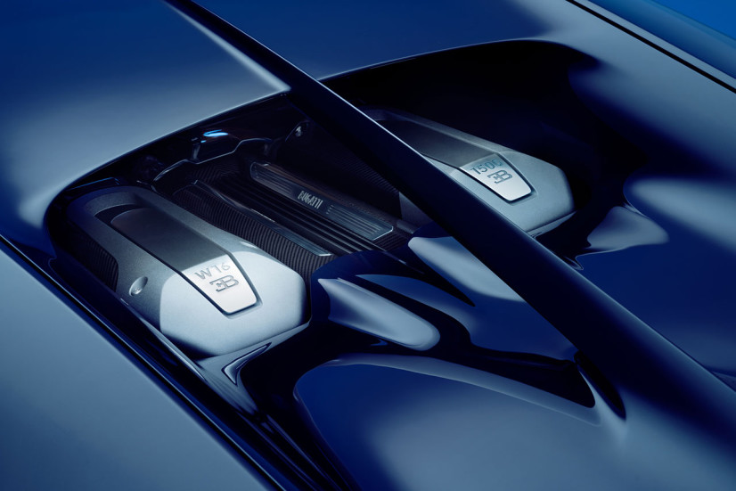 Moteur W16 Bugatti Chiron