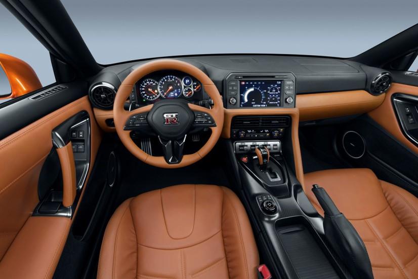 Intérieur Nissan GT-R 2017