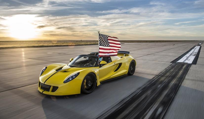 Record du monde Hennessey Venom GT