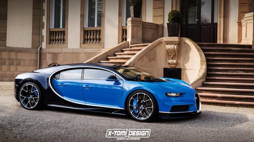 Bugatti Chiron 4 places