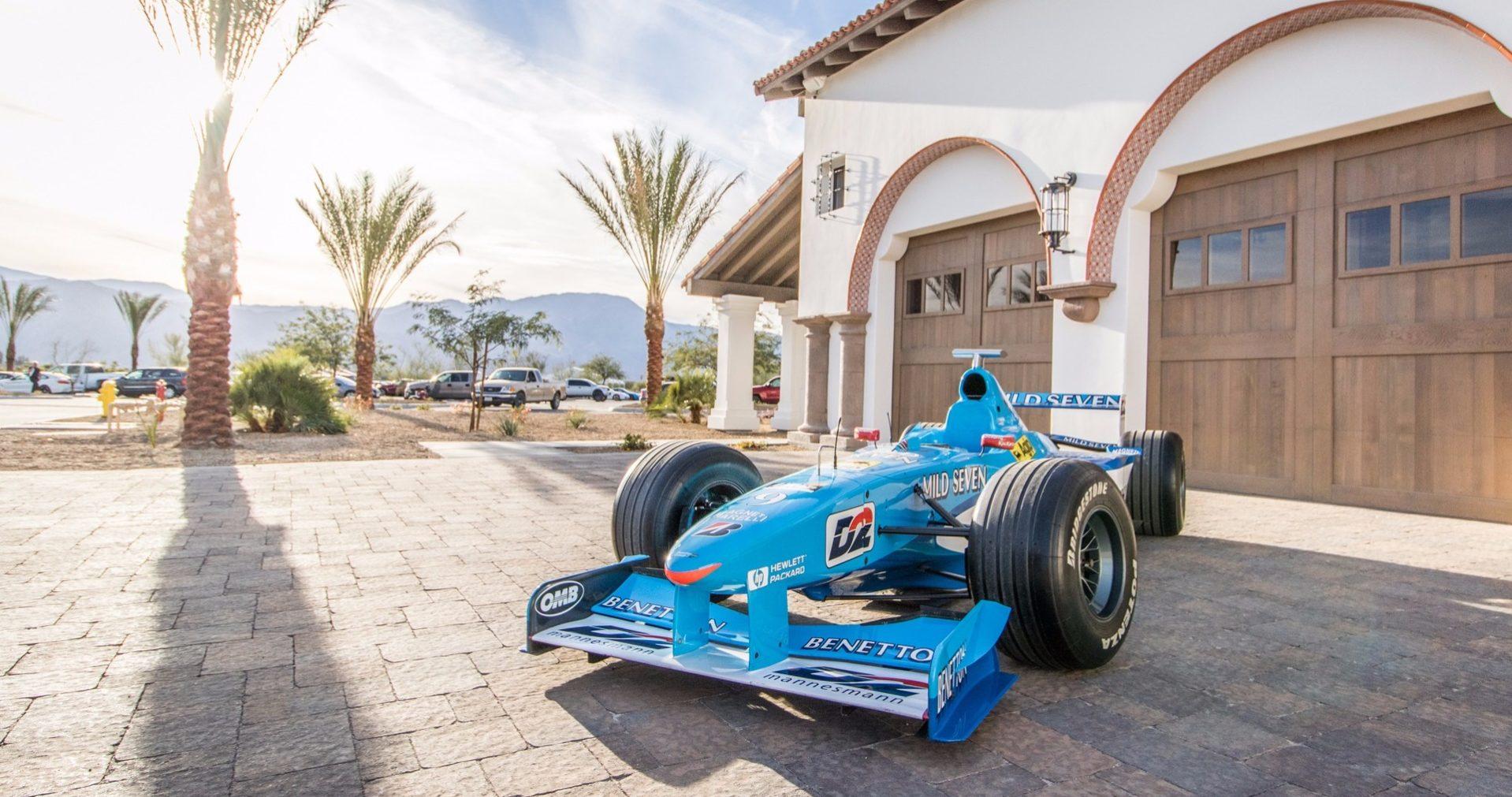 benetton F1 Mild Seven