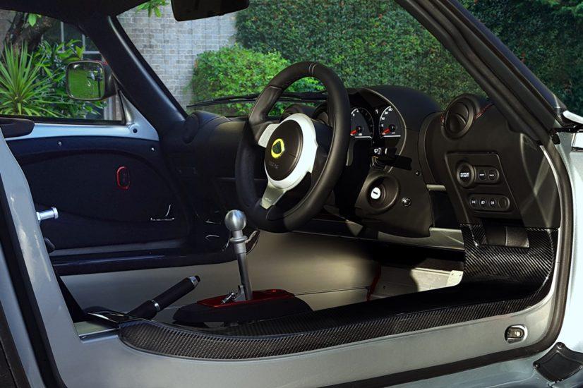 Intérieur Lotus Exige Sport 380