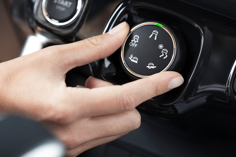 Citroën C3 Aircross Grip Control