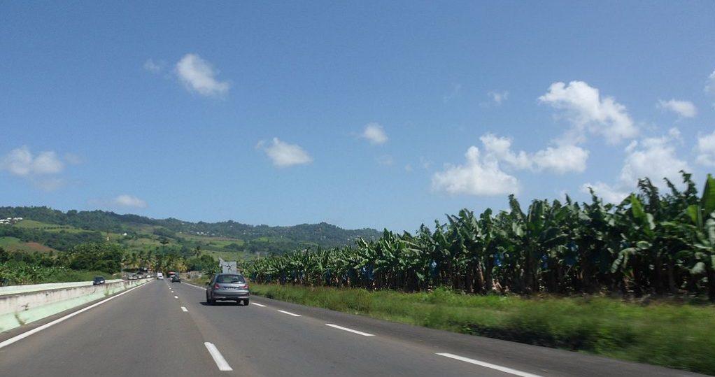 route martinique
