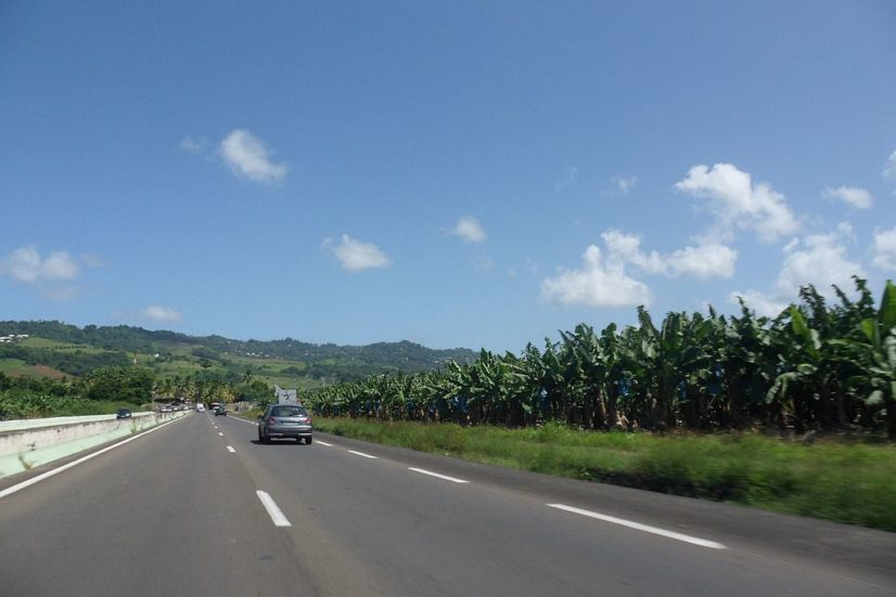 route martinique